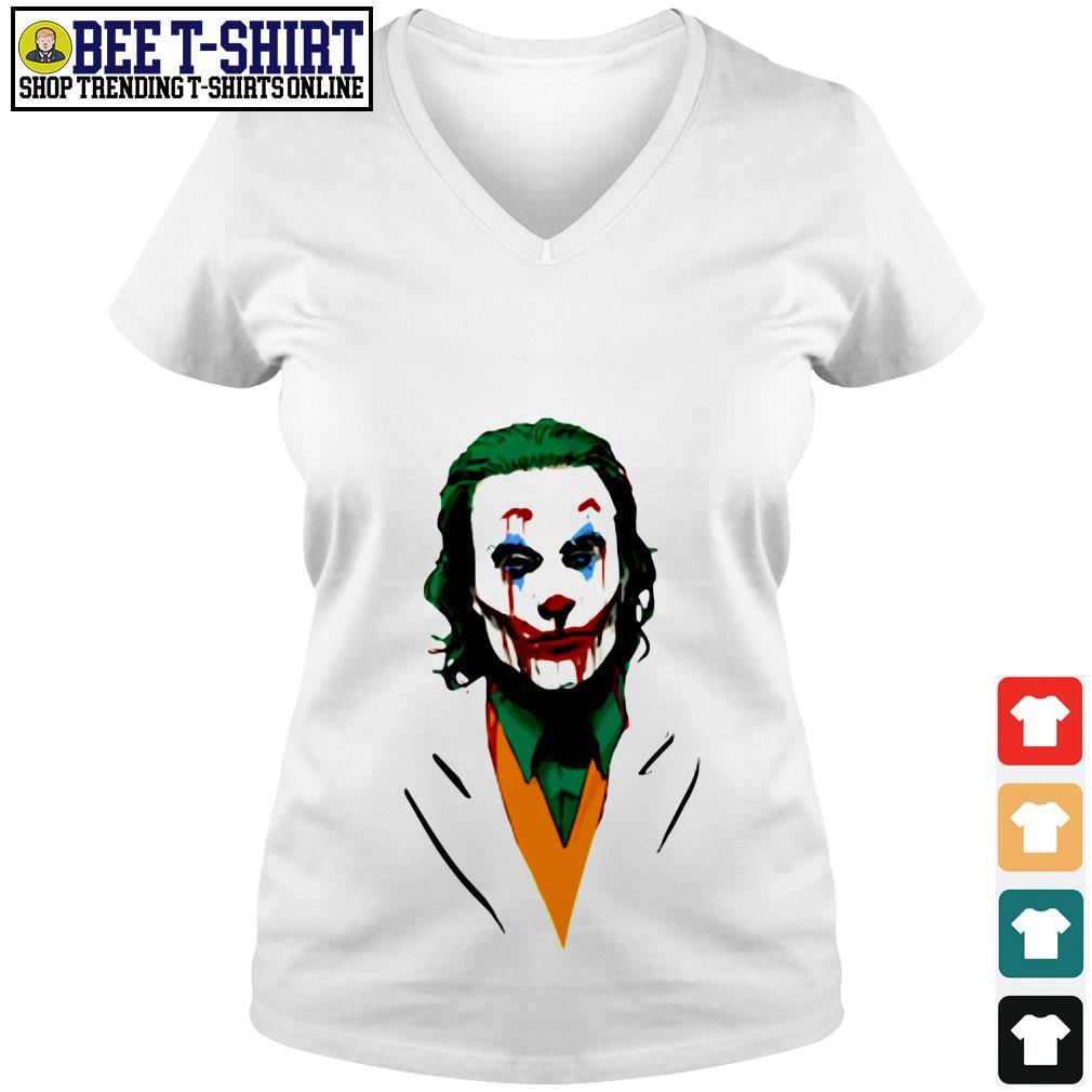 Joker 2019 V-neck T-shirt