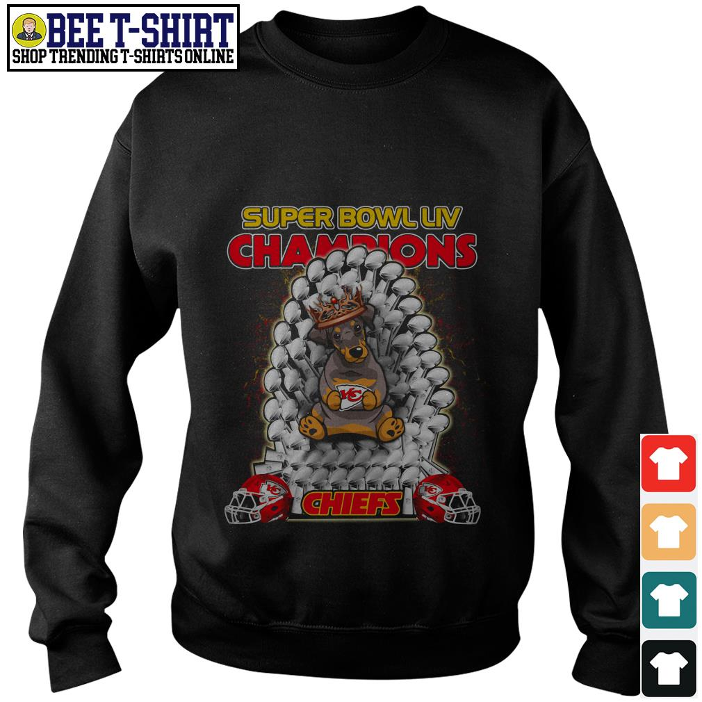 Kansas City Chiefs super bowl LIV champions Dobermann Chiefs Sweater