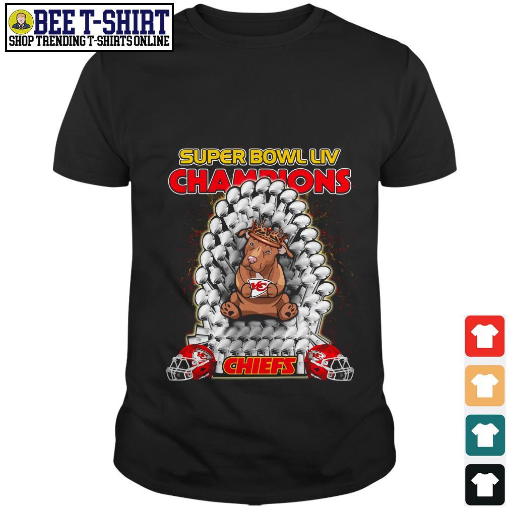 Kansas City Chiefs super bowl LIV champions Pitbull Chiefs shirt