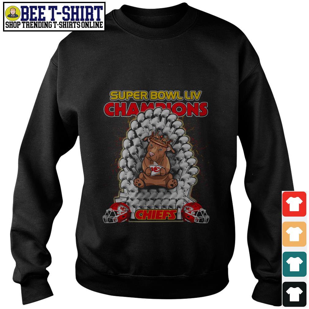 Kansas City Chiefs super bowl LIV champions Pitbull Chiefs Sweater