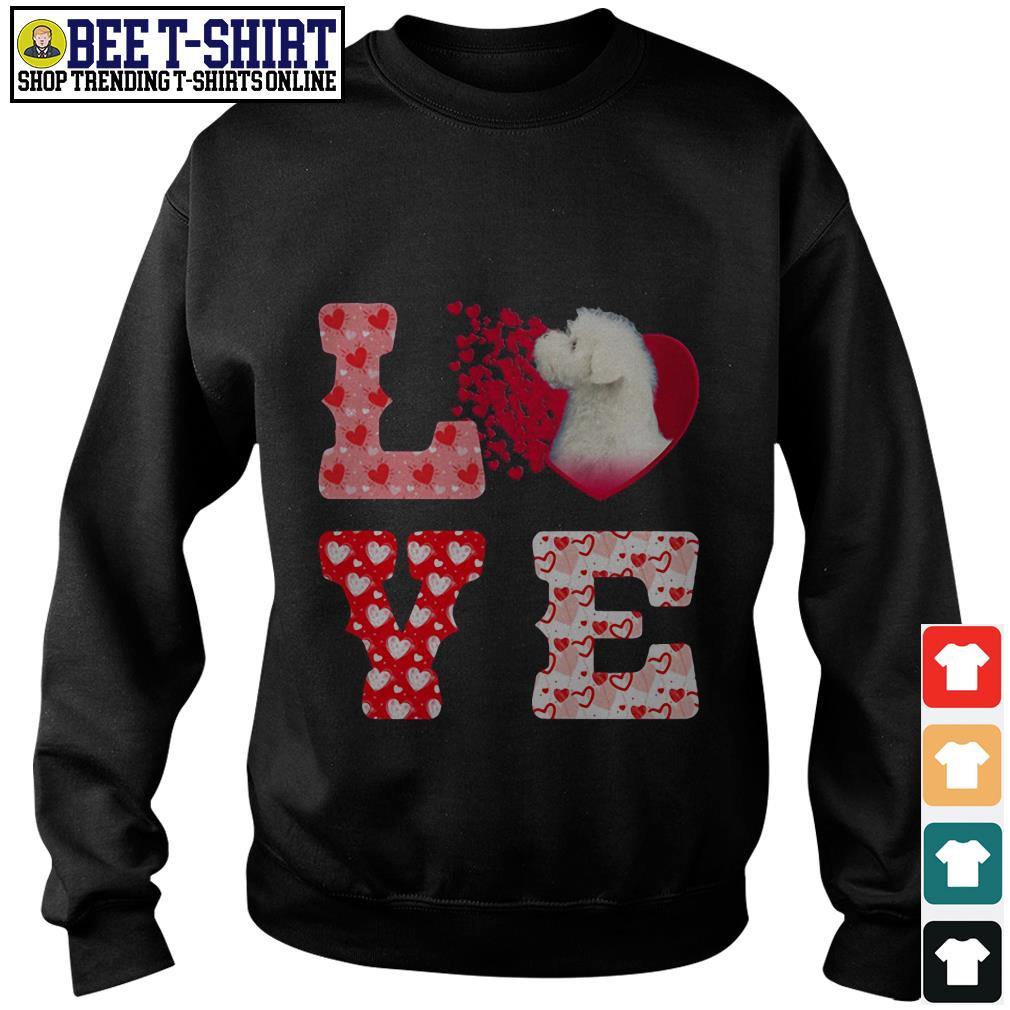 Maltese love valentine sweater