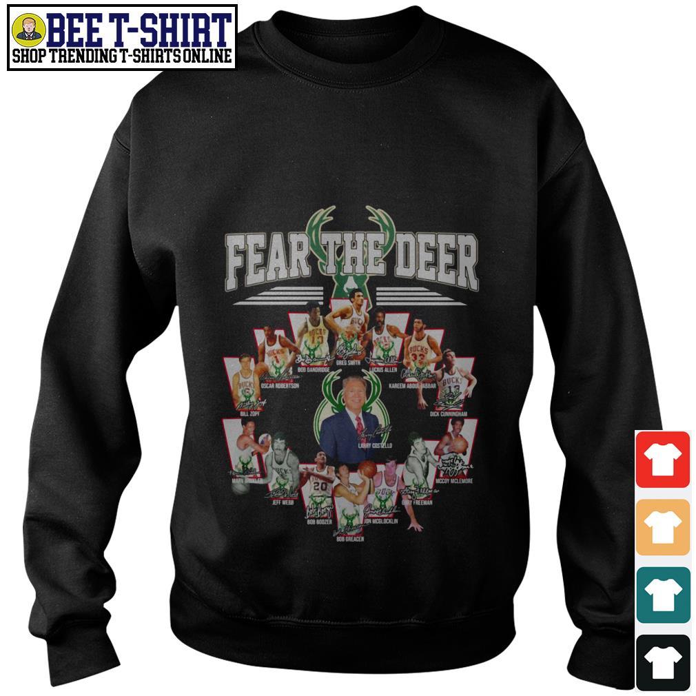 Milwaukee Bucks Fear the Deer players Sweater