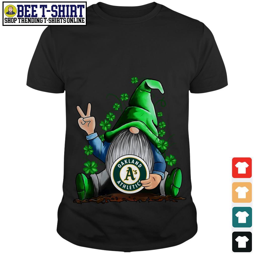 MLB Gnomes Lucky Hug Oakland Athletics Baseball shirt