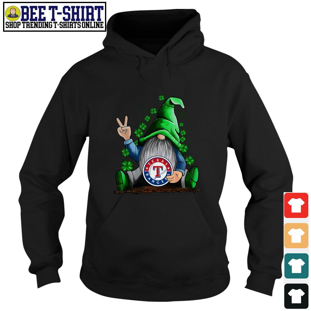MLB Gnomes Lucky Hug Texas Rangers Baseball Hoodie
