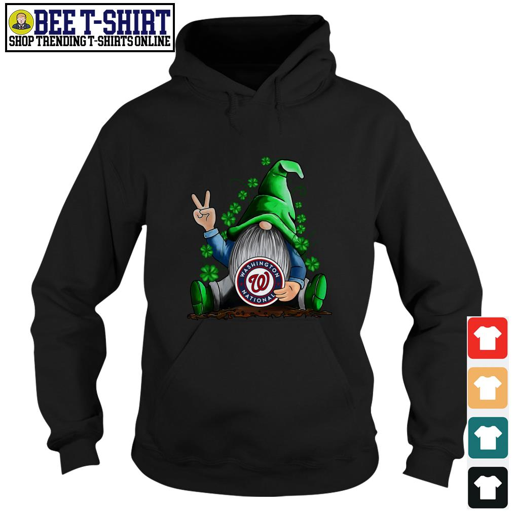 MLB Gnomes Lucky Hug Washington Nationals Baseball Hoodie