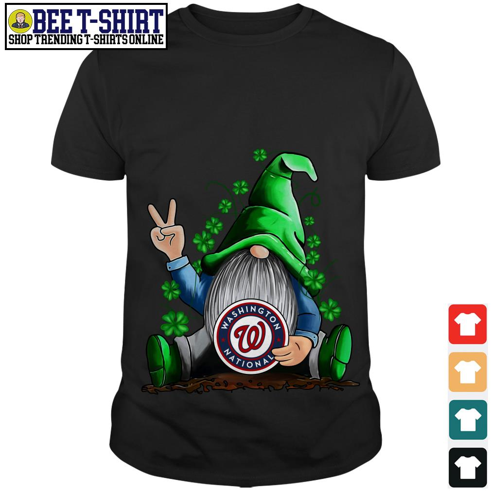 MLB Gnomes Lucky Hug Washington Nationals Baseball shirt