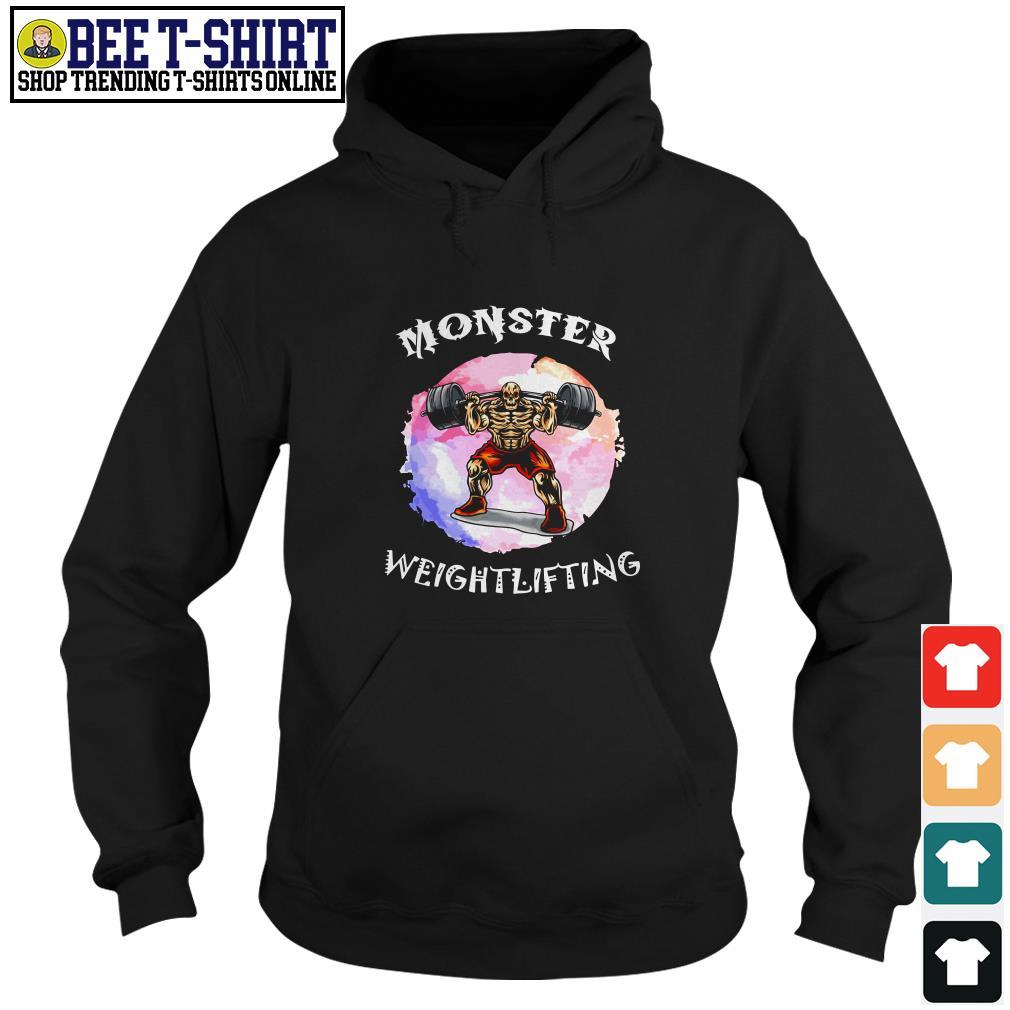 Monster weightlifting Hoodie