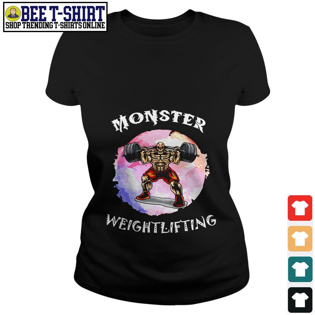Monster weightlifting Ladies Tee