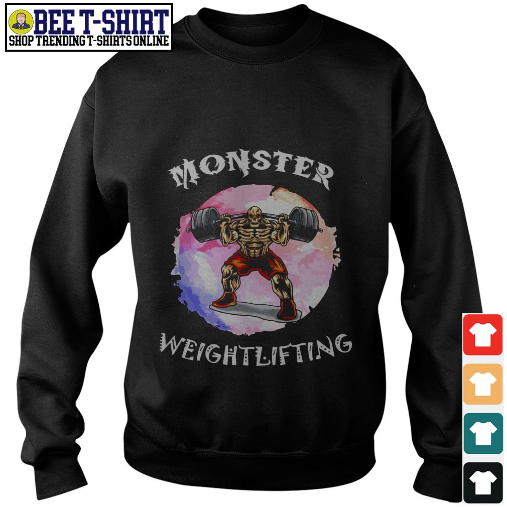 Monster weightlifting Sweater
