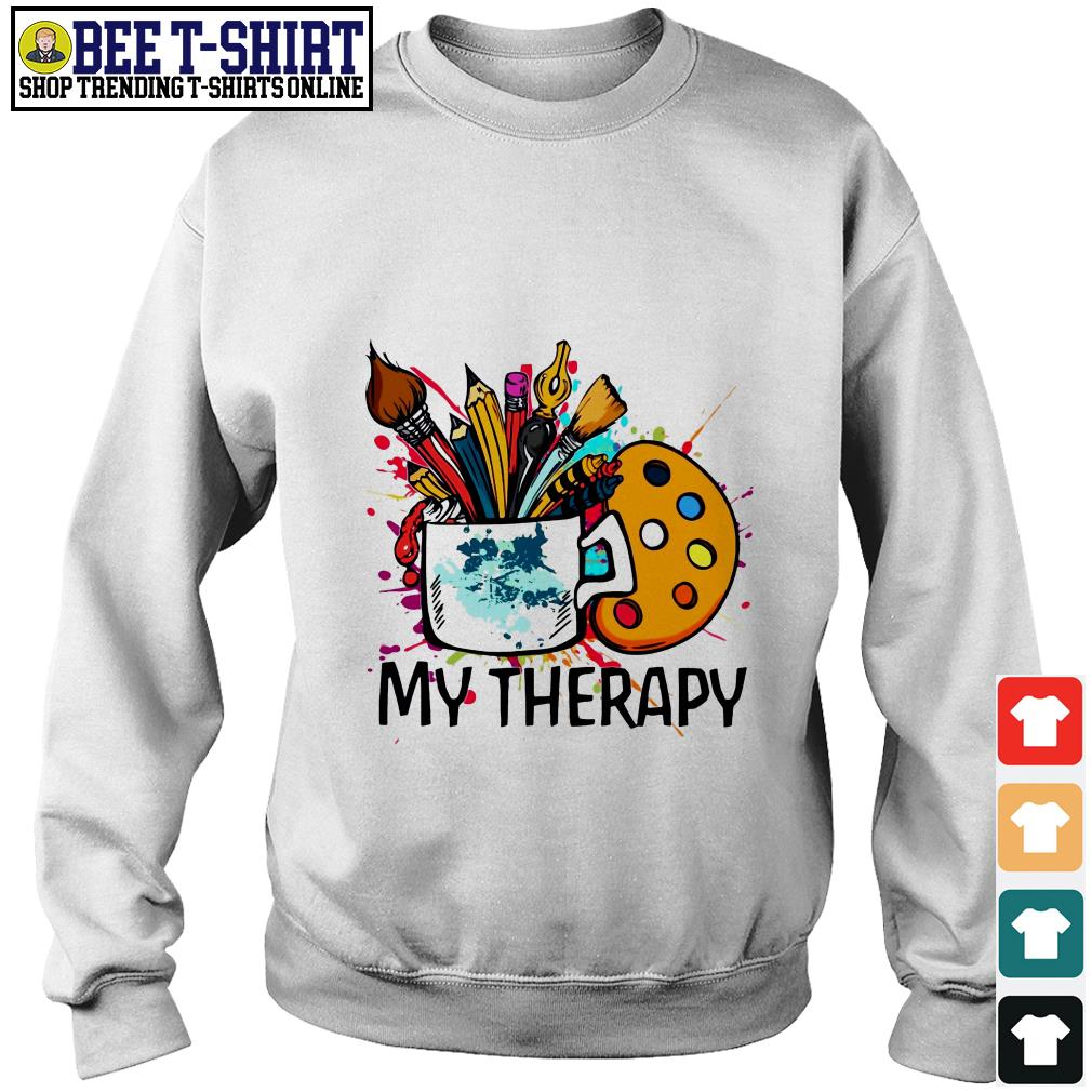 My therapy painting tools Sweater