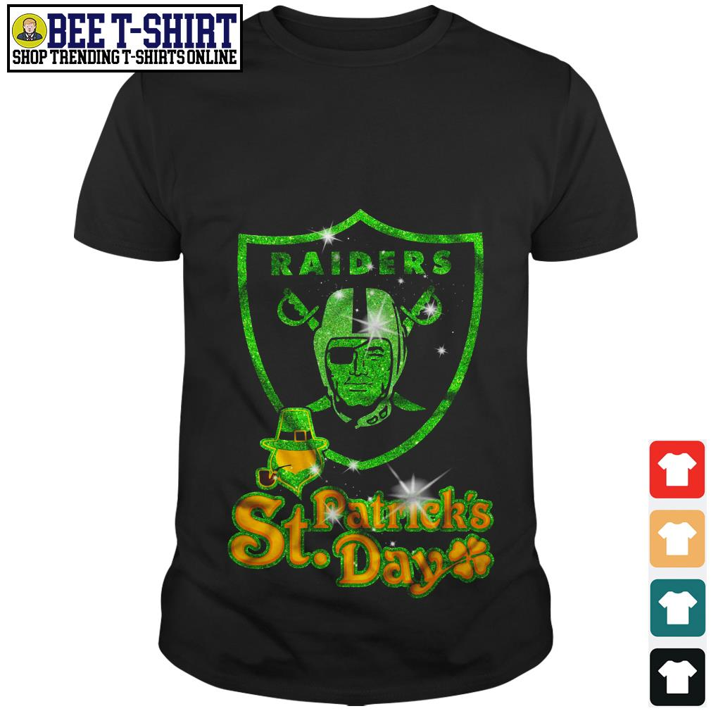 Oakland Raiders St. Patrick's Day shirt