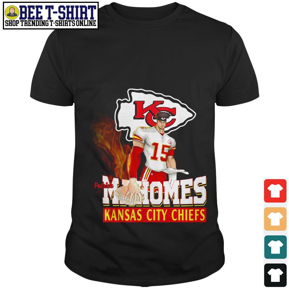 Patrick Mahomes Kansas City Chiefs cartoon shirt