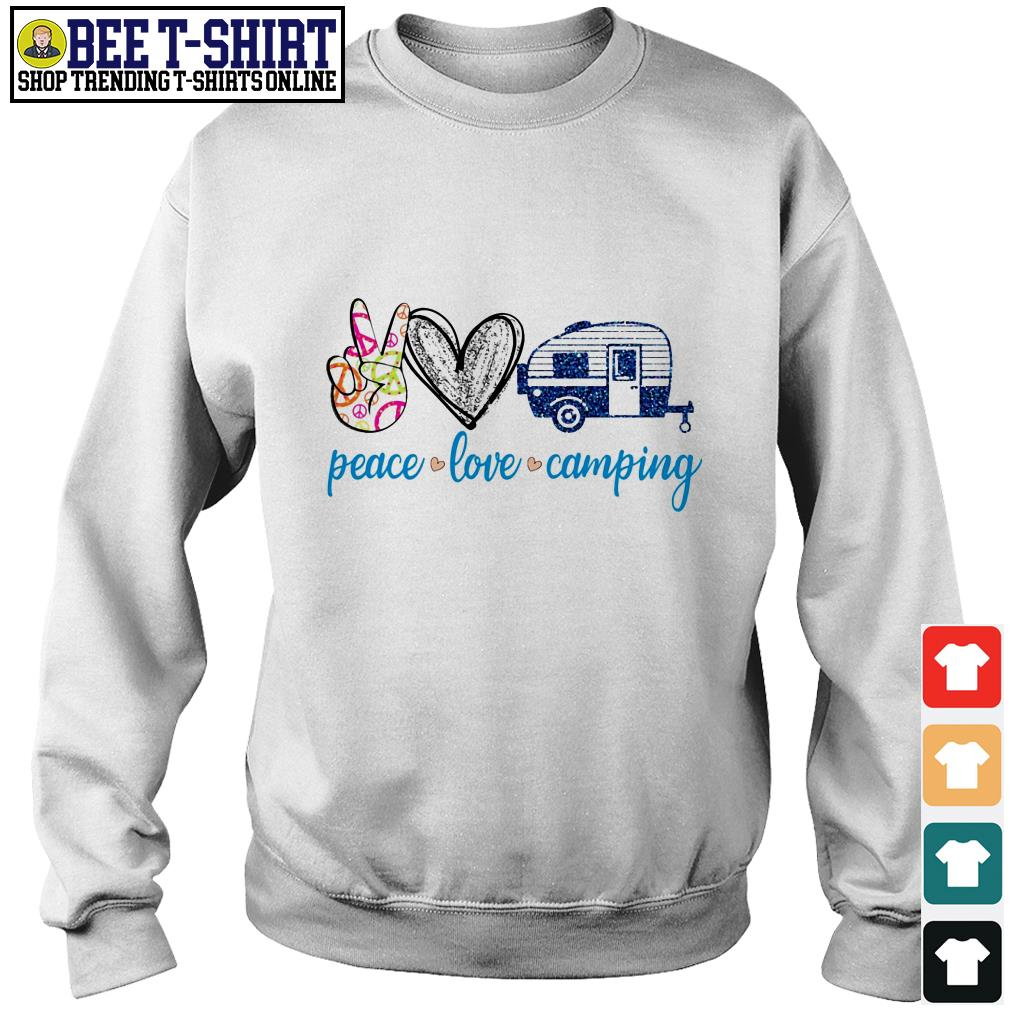 Peace love camping Sweater