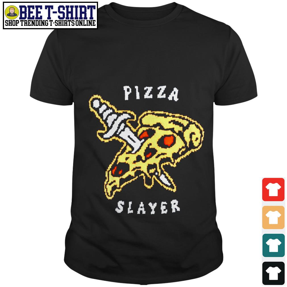 Pizza and knife Pizza slayer shirt