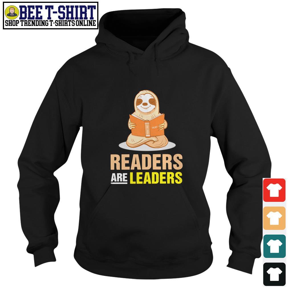 Sloth readers are leaders Hoodie