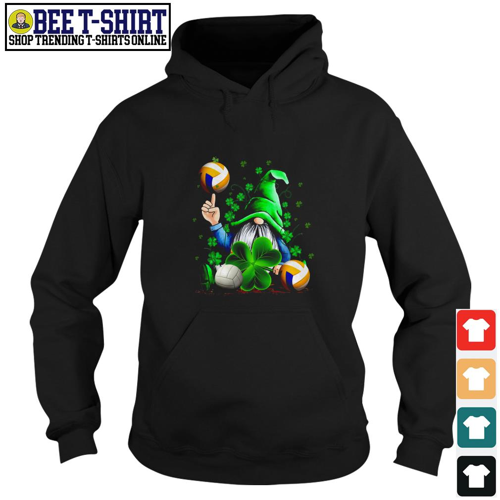 St' Patrick's Day Leprechaun and volleyball Hoodie