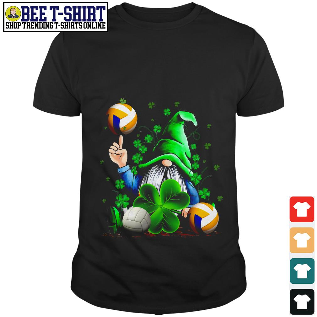 St' Patrick's Day Leprechaun and volleyball shirt