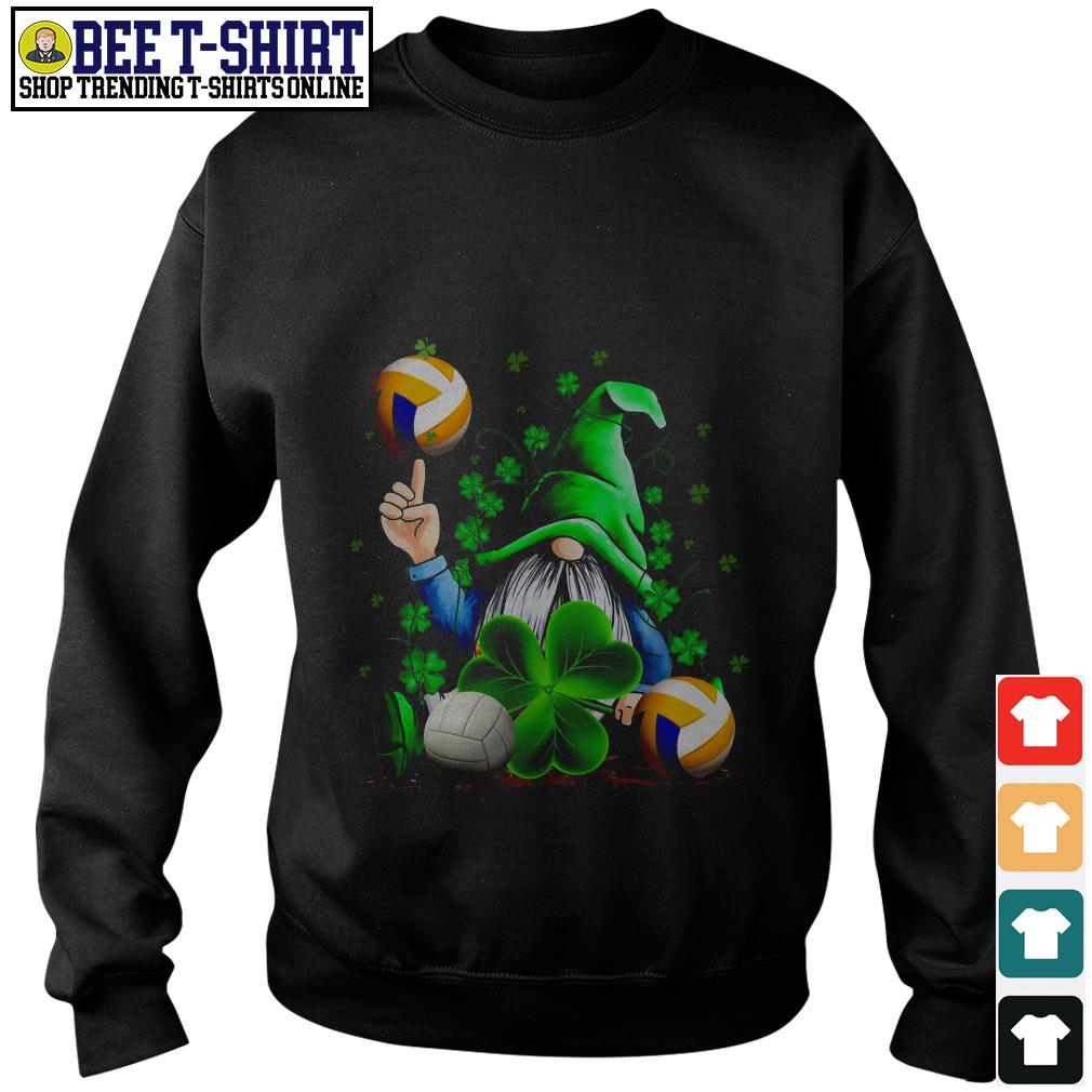 St' Patrick's Day Leprechaun and volleyball Sweater