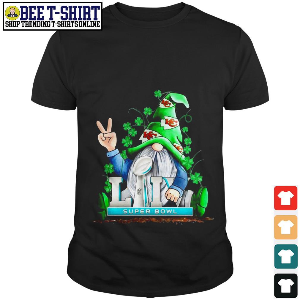 St' Patrick's Day Leprechaun Kansas City LIV super bowl shirt