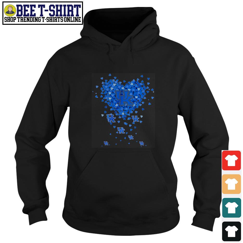 University of Kentucky valentine heart Hoodie
