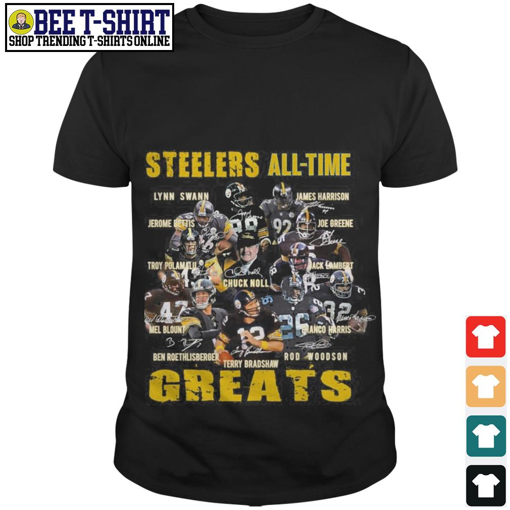 Pittsburgh Steelers All-time Greats Players Signatures