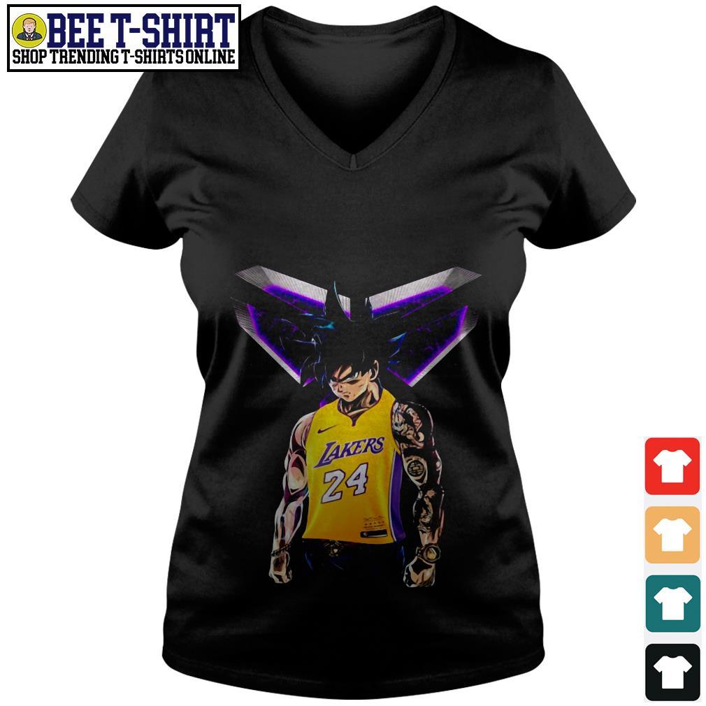Songoku Ultra Instinct Kobe Bryant Lakers 24 Shirt, hoodie ...