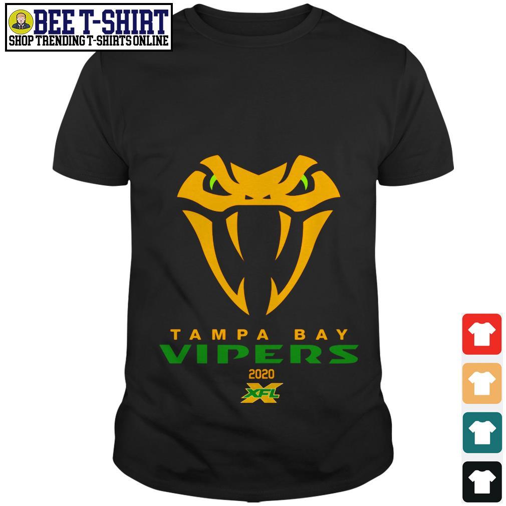 Tampa Bay Vipers 2020 XFL shirt