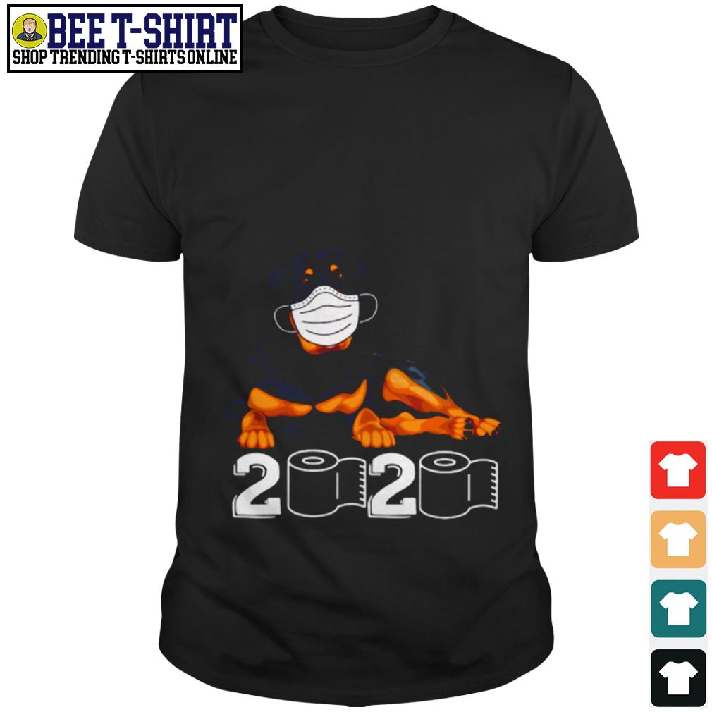 Rottweiler face mask 2020 shirt