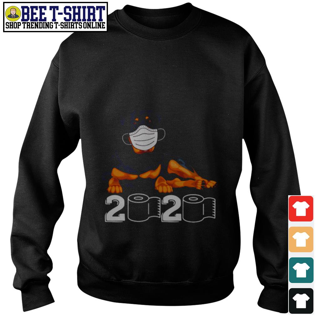 Rottweiler face mask 2020 Sweater