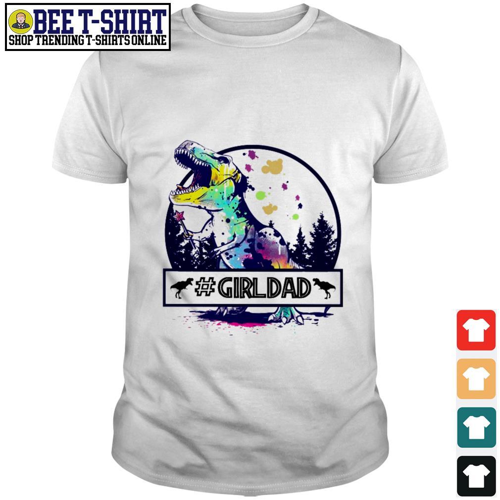 Dinosaur T-Rex Girldad shirt