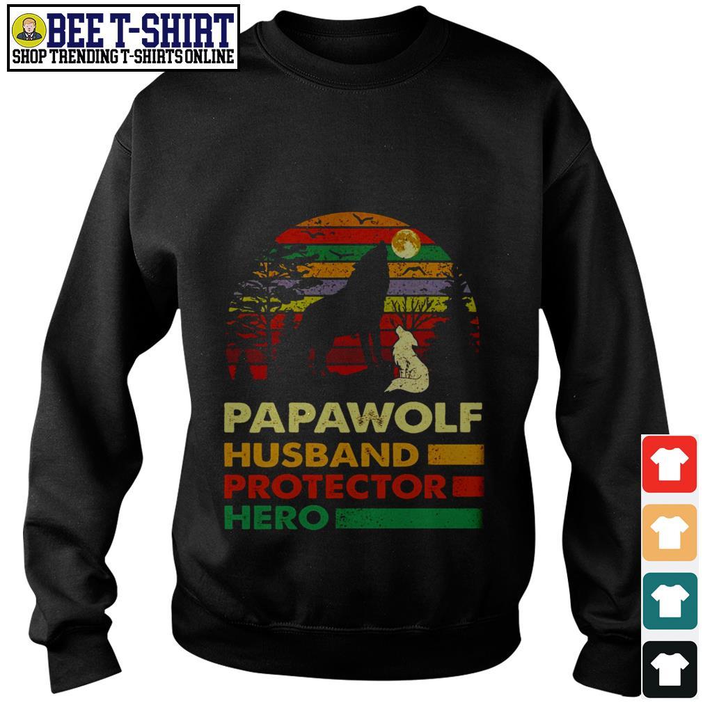 Papawolf husband protector hero vintage Sweater