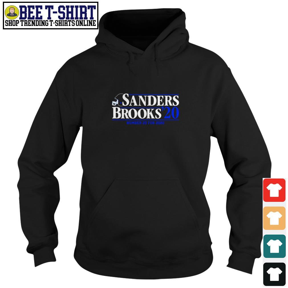 Sanders Brooks 2020 number 20 for 2020 Hoodie