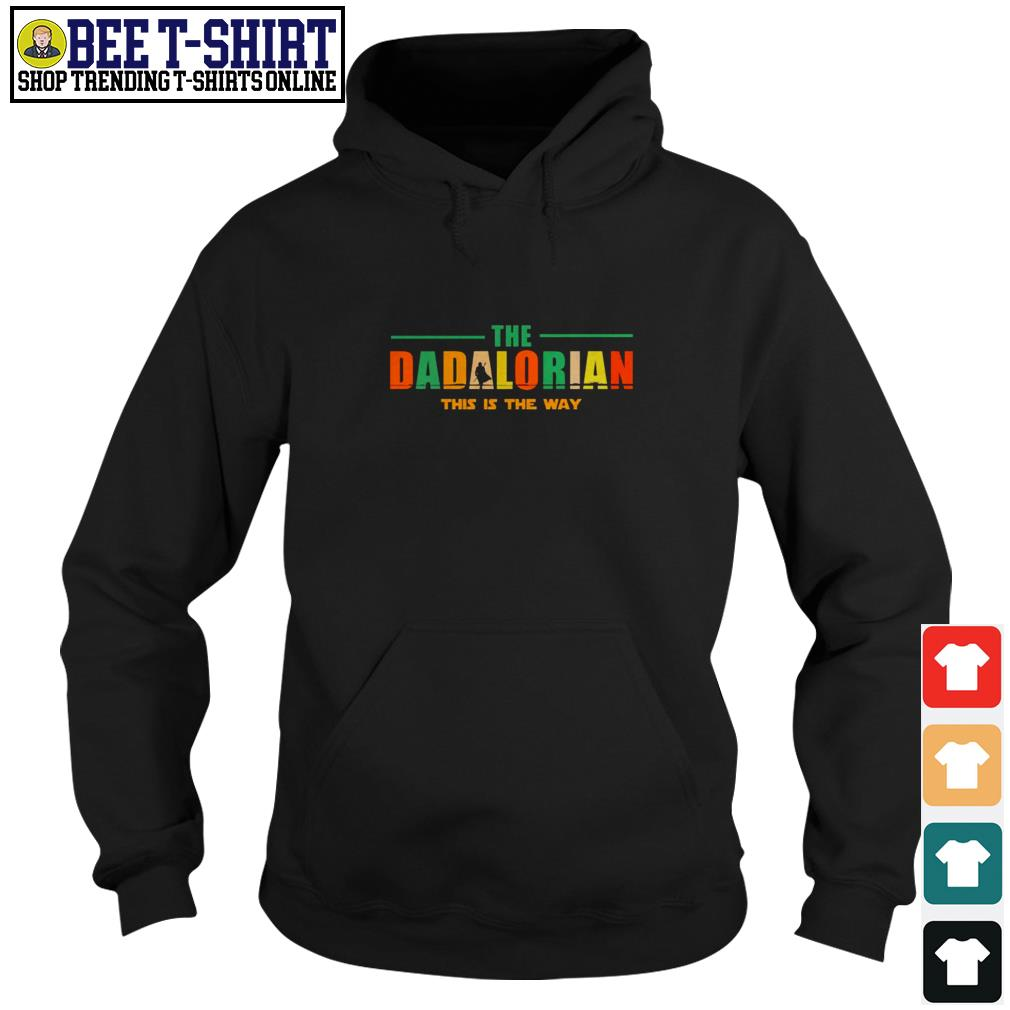 The dadlorian this is the way vintage Hoodie
