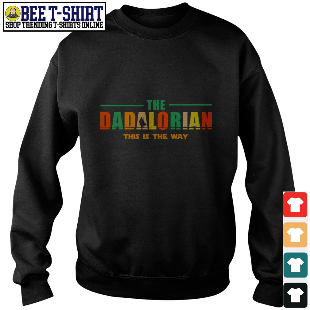 The dadlorian this is the way vintage Sweater