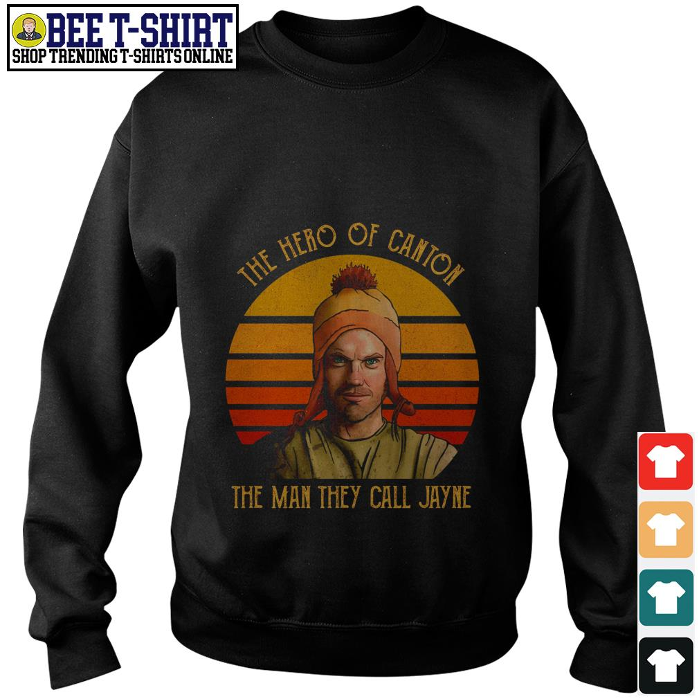 The hero of canton the man they call Jayne vintage Sweater