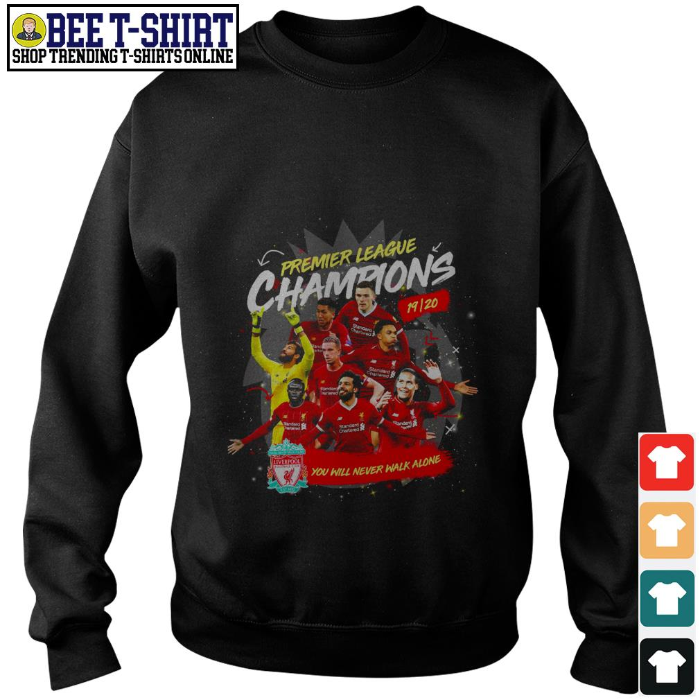 Liverpool FC Premier League Champions you will never walk alone Sweater