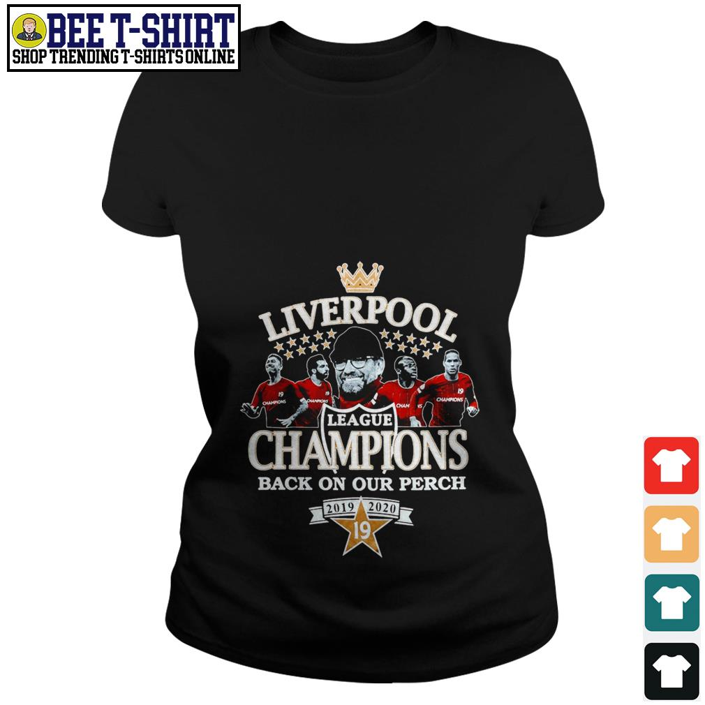 Liverpool League Champions back on our perch 2019 2020 Ladies Tee