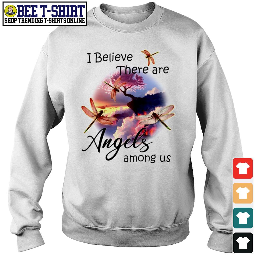 Dragonflies I believe there are angels among us s sweater