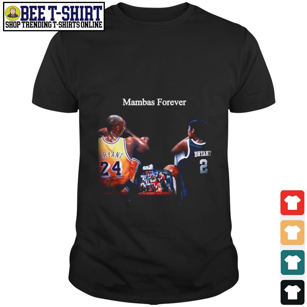 Kobe Bryant and Gigi Mambas forever shirt
