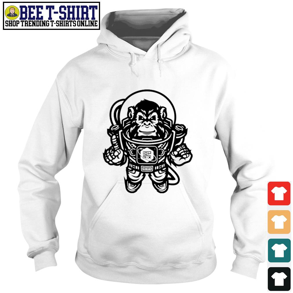 10th Planet Austin Space Ape Jiu Jitsu s hoodie