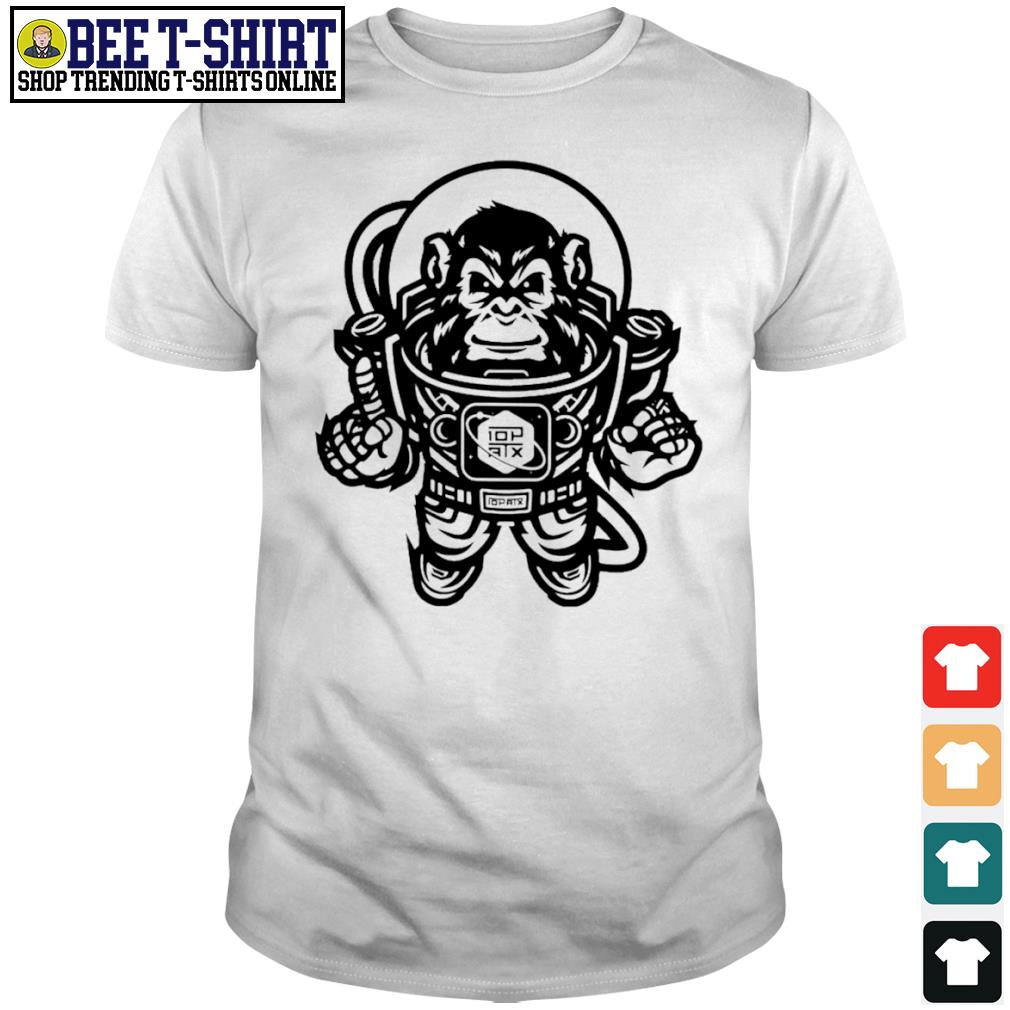 10th Planet Austin Space Ape Jiu Jitsu shirt