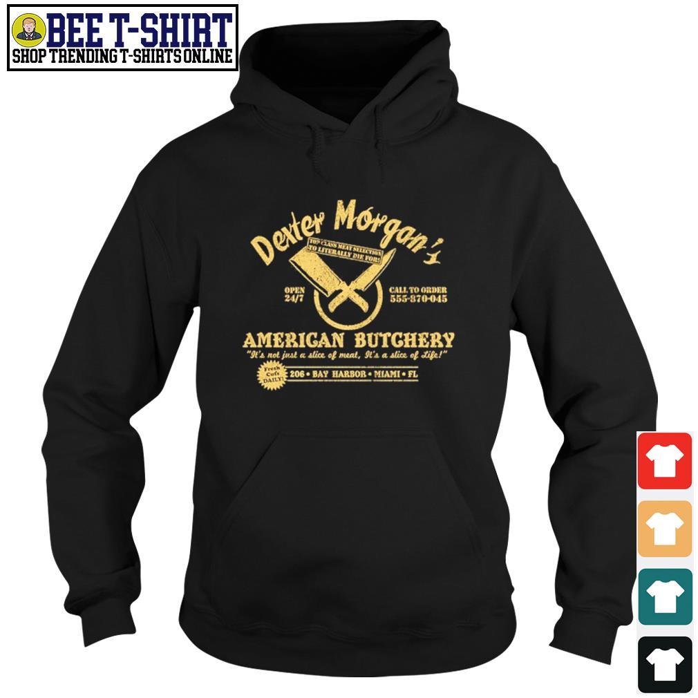Dexter Morgan American Butchery Bay Harbor Miami s hoodie