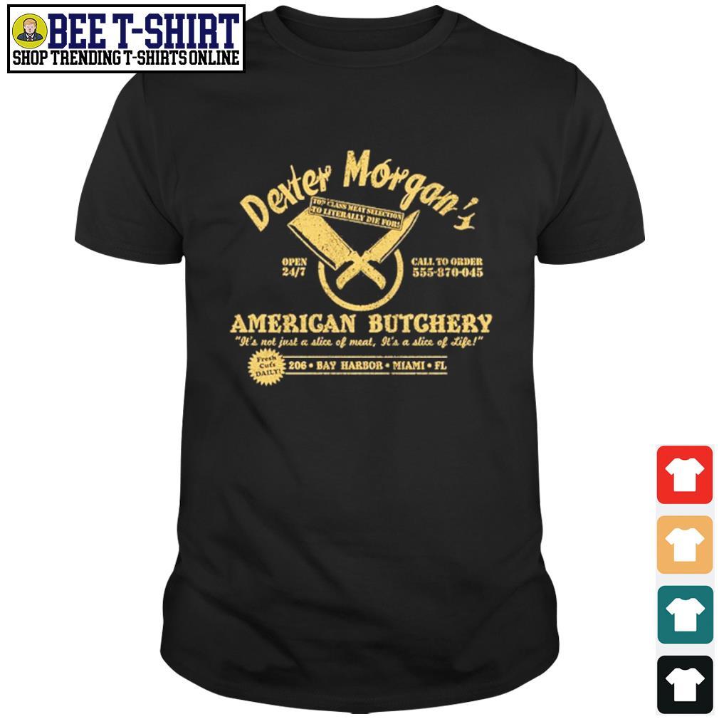 Dexter Morgan American Butchery Bay Harbor Miami shirt