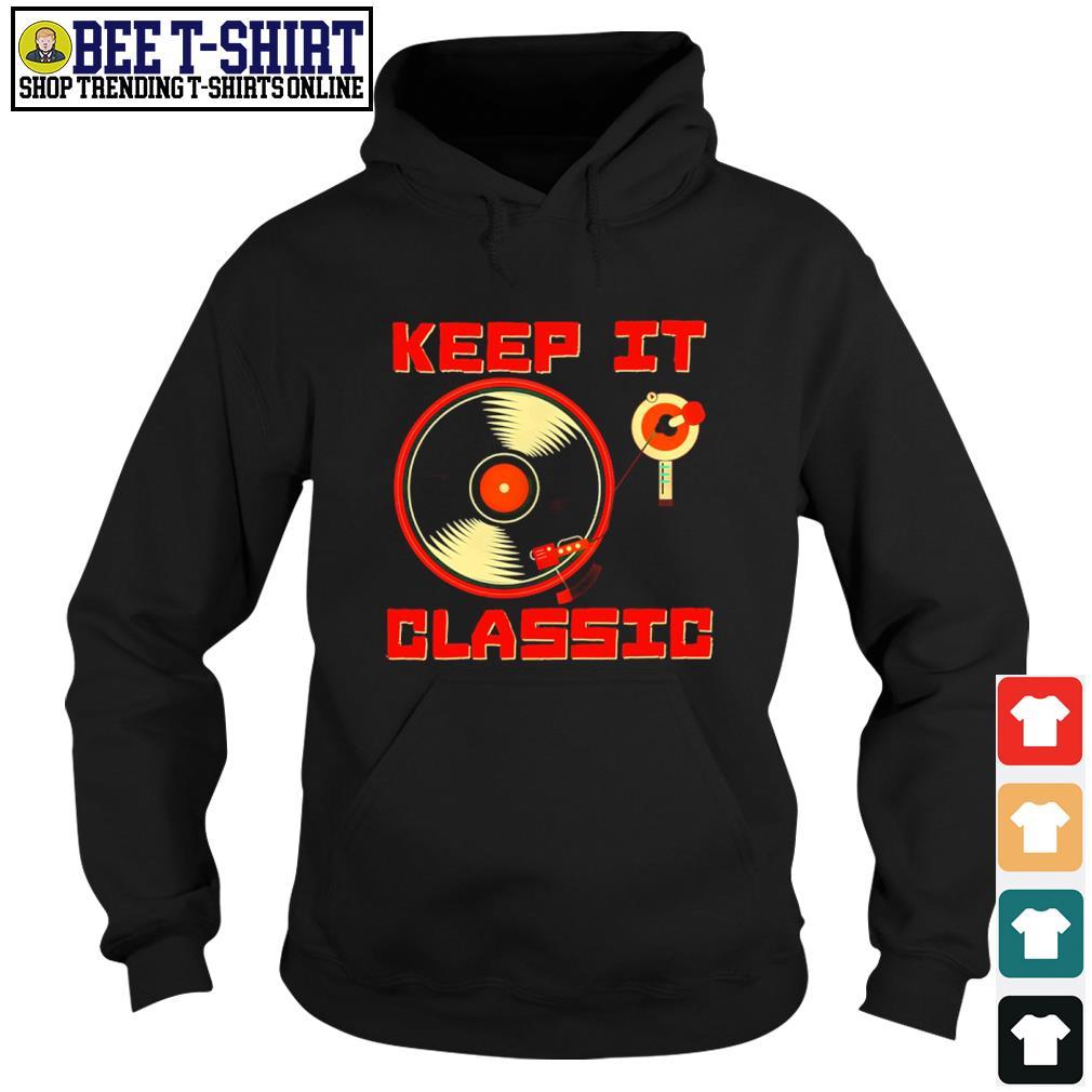 DJ keep it classic s hoodie