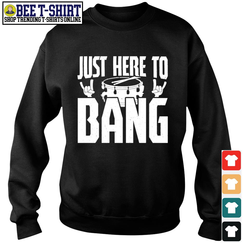 Drum just here to bang s sweater