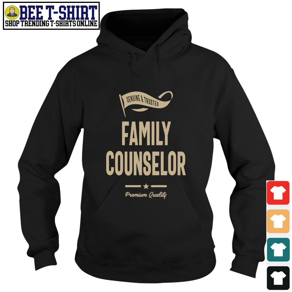 Genuine and trusted family counselor premium quality s hoodie