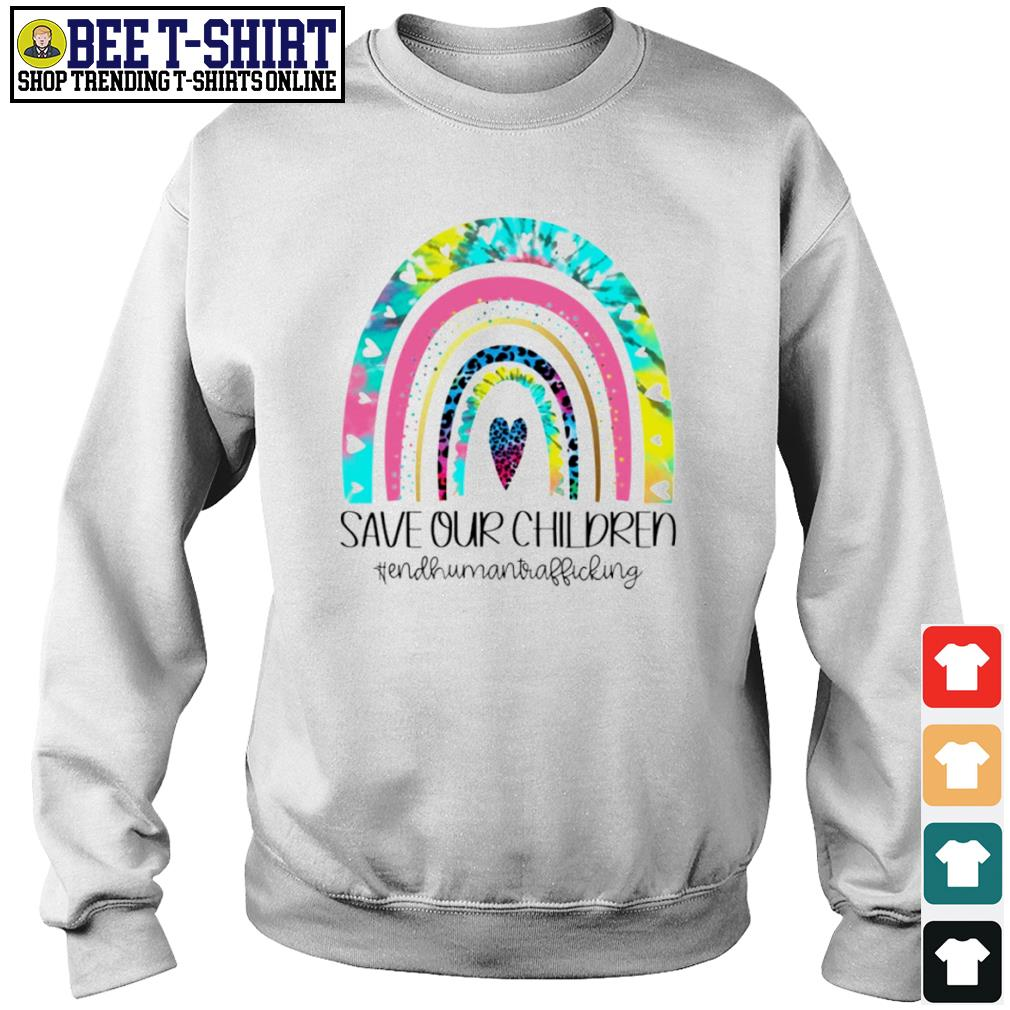 Save our children end human trafficking s sweater