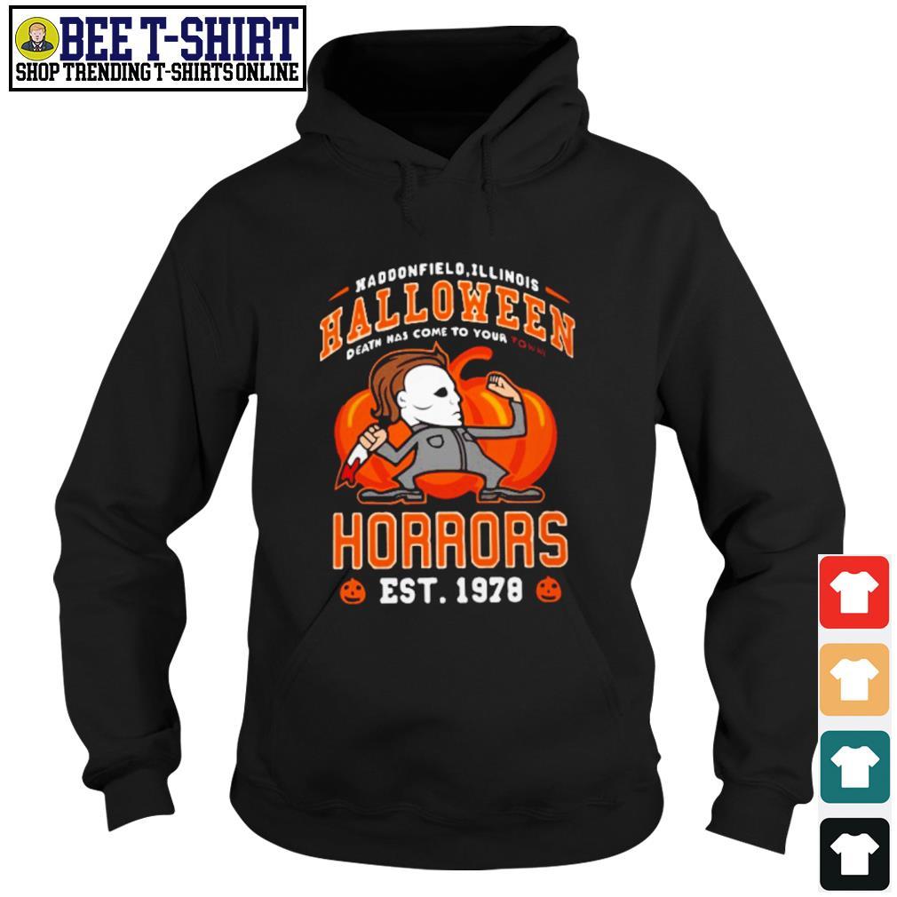 Haddonfield Illinois Halloween Michael Myers horrors est 1978 s hoodie
