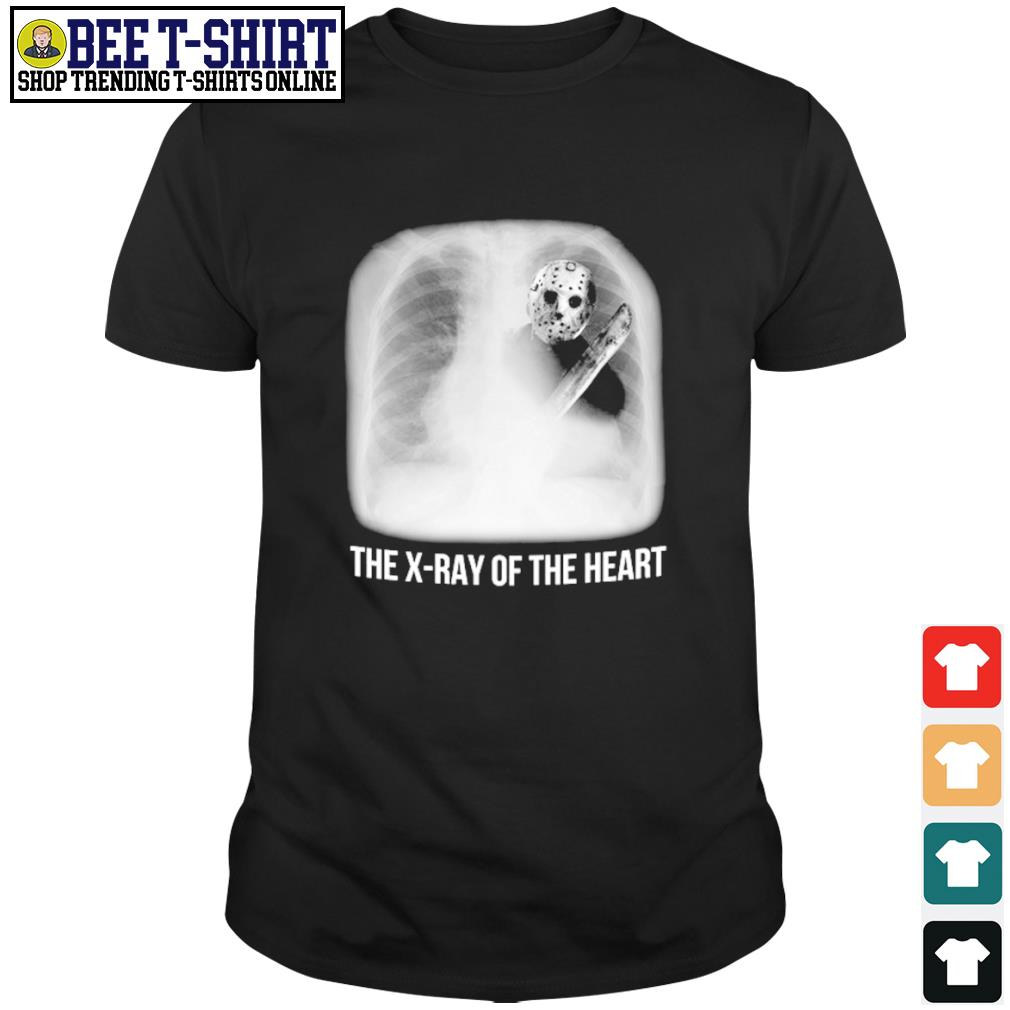 Jason Voorhees the x-ray of the heart shirt