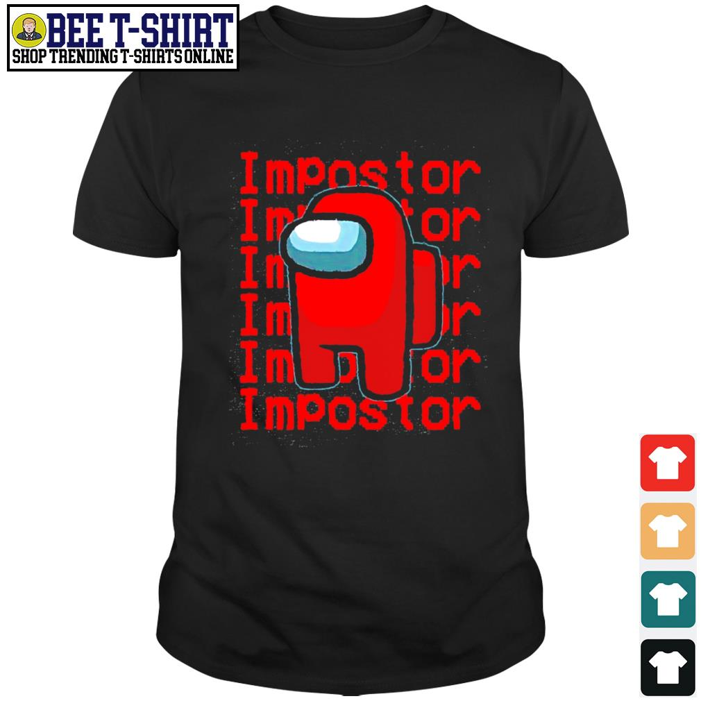 Among Us Impostor shirt